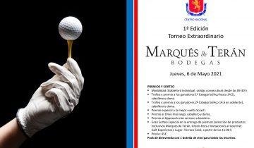 Marqués de Terán, patrocinador oficial del Centro Nacional de Golf